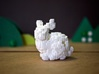 Geodesic Bunny 3d printed