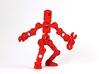 ModiBot Myke- Microfigure frame 3d printed ModiBot Myke- Microfigure frame