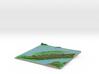 Terrafab generated model Mon Dec 05 2016 17:59:12  3d printed