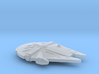 1:2700 Millenium Falcon for Zvezda Star Destroyer 3d printed