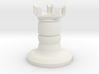 Fantasy chess - castle 3d printed