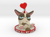 My Grumpy Valentine 3d printed