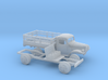 1/160 1945-50 Dodge Power Wagon Stake Bed 3d printed