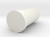 Bottle toothpick tube 3d printed