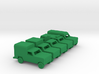 1/200 Scale Dodge Truck Set Of 5 3d printed