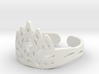 Ice Crown Ring 3d printed