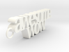 Hamilton key charm: awesome. wow.  3d printed
