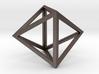 Octahedron Pendant 3d printed