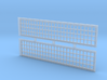 2 X EMD GP 38 Radiator Grill Front 1:64 S Scale 3d printed