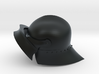 Playmobil - 15th century sallet with open visor 3d printed