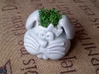 Bunny Planter 3d printed Water cress crop.