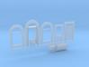 N-scale 1/160 Millie's Cafe Doors, Windows Etc. 3d printed