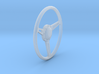 GT500 Steering Wheel 1/18 3d printed