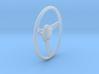 GT500 Steering Wheel 1/25 3d printed