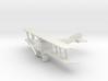Fokker D.IV 3d printed 1:144 Fokker D.IV in WSF