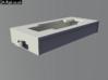 OO9/HOe Skirted Locomotive Base - Kato 11-103 3d printed Component test render