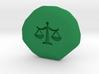 Justice Runestone 3d printed
