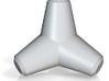 "Tetrapod 20t H0 scale (1:87), 1.39"" 3d printed"