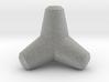 "Tetrapod 2t H0 scale (1:87), 0.64"" 3d printed"