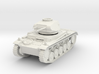 PV162A Pzkw IIF Light Tank (28mm) 3d printed
