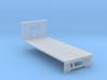 N-scale 20' Flatbed 3d printed