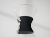Chemex Classic Collar 3d printed Close up Chemex classic Grip