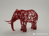 Digital Safari- Elephant (Small) 3d printed