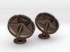 US Army Star Cufflinks 3d printed