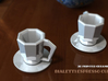 BIALETTI ESPRESSO CUP-SAUCER 3d printed
