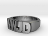 WWJD Size 11.5 3d printed