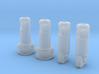 x4 (1.3mm) 3.65mm OD Rotary Kill Keys V2/V3 long 3d printed