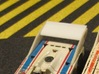 HO AFX Porsche 917 RC Cola Wing 3d printed Trim the pins down a little bit and flex the wing to install.