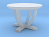 Simple Round Dining Table 3d printed