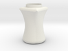 Circle to square jar 3d printed