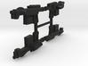 """PRHI Kenner Imperial Blaster 3 3/4"""" Sprue of 4x 3d printed"""