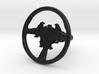 Steering Wheel P-RSR-Type - 1/10 3d printed