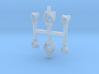 N Seinlampen NS voor SMD LEDs (2 groot + 4 middel) 3d printed