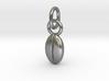 Custom coffee bean initials charm 3d printed