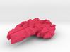 Colour Swarm Combat Frigate 3d printed