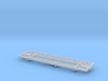 Flat Car 1890 Ulster & Delaware Wood S Scale 1/64 3d printed