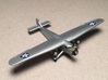 Ford 5-A-TC Trimotor 1/285 Scale 3d printed US Army Air Corps Trimotor by Fred Oliver