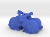 Qaudriple Bunny 3d printed