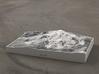 Mammoth Mtn. in Winter, California, 1:50000 3d printed