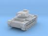 PV163B Pzkw IIIJ Medium Tank (1/100) 3d printed