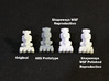 Star Wars Repro Mini Blockade Runner for Kenner 3d printed Comparison 2