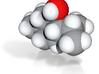 Menthol molecule (x40,000,000, 1A = 4mm) 3d printed
