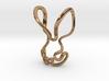 Contour Bunny 3d printed