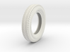1/6 6.00 X 16 Dunlop Fort Tire 3d printed