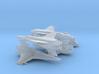 Viper Mk VII Wing (Battlestar Galactica), 1/200 3d printed