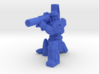 Diaclone Combat Squad, 5 35mm Minis 3d printed Render, Missile Trooper